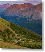 Rocky Mountain Wilderness Metal Print