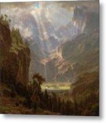 Rocky Mountains, Lander's Peak Metal Print