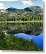 Rocky Mountains Majesty Metal Print