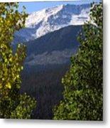 Rocky Mountains Mtn M 207 Metal Print