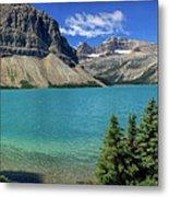 Rocky Mountains Panorama Metal Print