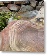 Rocky Patterns Metal Print