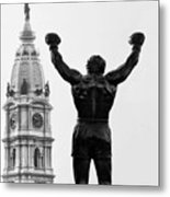 Rocky - Philly's Champ Metal Print