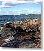 Rocky Point - Wreck Island Metal Print