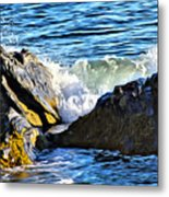Rocky Shore 1 Metal Print