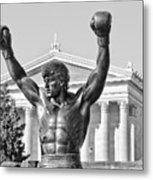 Rocky Statue - Philadelphia Metal Print