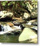 Rocky Stream 5 Metal Print