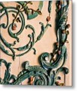 Rococo Metal Print