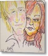 Rod Stewart And Cyndi Lauper Tour 2017 Metal Print