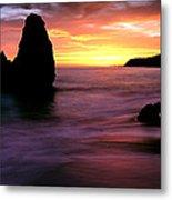 Rodeo Beach At Sunset, Golden Gate Metal Print