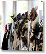 Rodeo Gear Metal Print