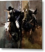 Rodeo Painting Metal Print