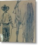 Rodeo Star Metal Print