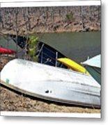 Rowboats Ashore  Metal Print