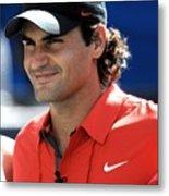 Roger Federer In Attendance For Arthur Metal Print by Everett