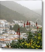 Rojo In The Pueblos Blancos Metal Print