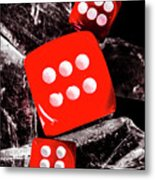 Roll Play Of Still Life Metal Print