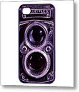 Eye Rolleiflex Euphoria Metal Print