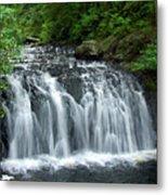 Rolley Lake Falls Dry Brushed Metal Print