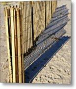 Rolling Fence Metal Print