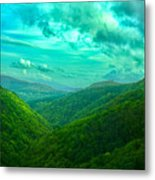 Rolling Hills Of Italy Metal Print