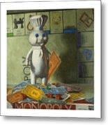 Rolling In Dough Metal Print by Judy Sherman