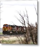 Rolling Into View Metal Print