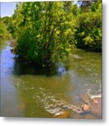 Rolling On The River Metal Print