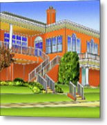 Rolling Road Golf Club Metal Print