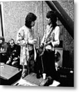 Rolling Stones 1970 Mick and Keith Metal Print