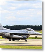 Rolling To Position Metal Print