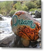 Rolling Water Dreams Metal Print