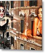 Roma Beauty Metal Print