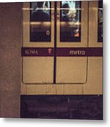 Roma Metro Metal Print