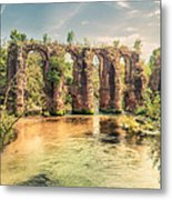 Roman Aqeduct I Metal Print