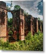 Roman Aqueduct II Metal Print