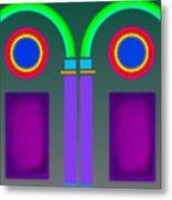 Roman Arctiecture Doors Metal Print