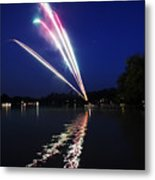 Roman Candle Metal Print by Ty Helbach