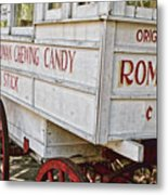 Roman Chewing Candy - Surreal Metal Print