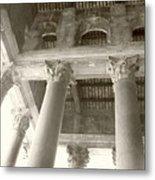 Roman Columns Metal Print