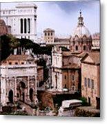 Roman Forum Metal Print by Warren Home Decor