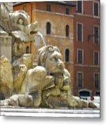 Roman Fountain  Metal Print