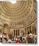 Roman Pantheon Metal Print