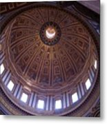 Roman Skylight Metal Print