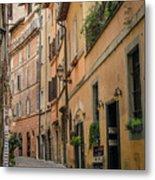 Roman Street Metal Print