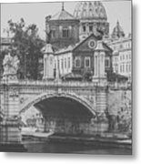 Roman Vintage Views Metal Print