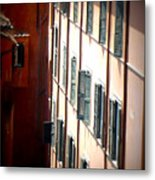 Roman Windows Metal Print