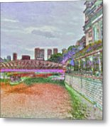 Romance At The Cavenagh Metal Print