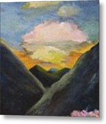 Romance Of The Land And The Skies Metal Print