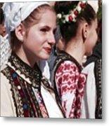Romanian Beauty - 2 Metal Print
